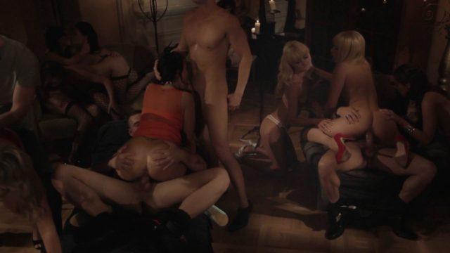 Aleska Diamond, Anissa Kate, Anna Polina, Denis Reed, Jenna Lovely, Martin Gun, Samantha Jolie, Tarra White The Last Shag