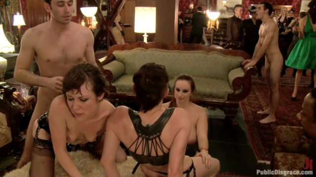 Maitresse Madeline, Princess Donna, Simone Sonay Public Disgrace: Princess Donna's Birthday Bash 2