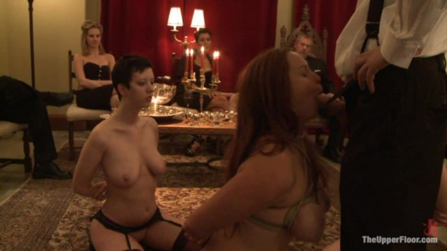 Bella Rossi, Cherry Torn, Jade Indica, Lilla Kat, Maitresse Madeline, Matt Williams, Princess Donna, Satine Phoenix, Van Darkholme The Upper Floor: The First Supper 3