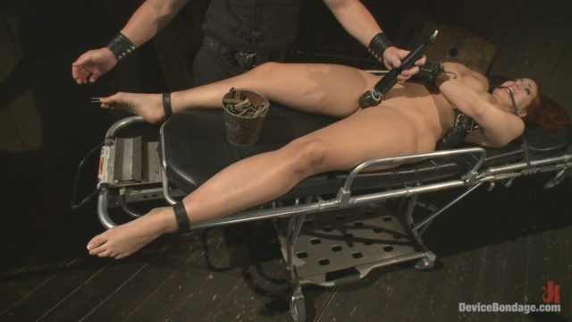 Kelly Divine, Tom Moore Device Bondage: Kelly Divine: Stretched, Fucked, Flogged, And Squirting Everywhere, Rosebud Exposed