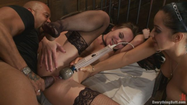 Alysa, Isis Love, Shane Diesel Everything Butt: Alysa's Extreme Anal Fisting And Huge Toys