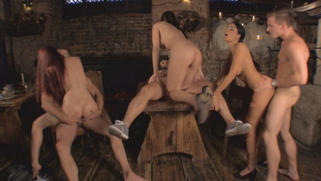 Abbie Cat, Anissa Kate, Jay R Oktober Sexfest