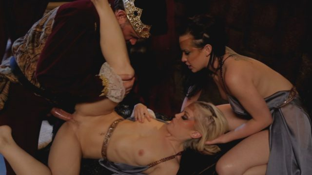 Alec Knight, Ash Hollywood, Katie St Ives in Snow White XXX: A Porn Parody