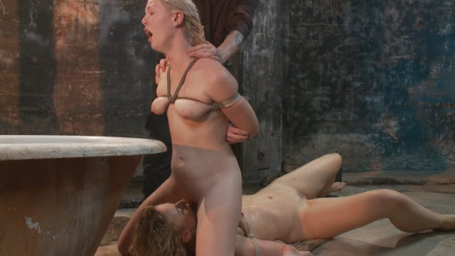 Dylan Ryan, Ella Nova in Sadistic Rope: 2 Whores Means Twice The Suffering