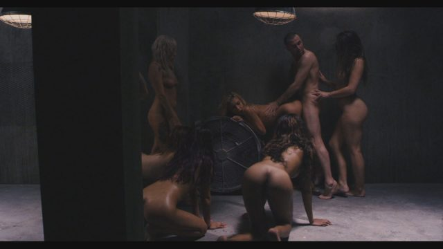 Carmen Caliente, Carmen Callaway, Dani Daniels, Delilah Davis, James Deen, Janice Griffith, Jessica Ryan, Sadie Santana, Shay Ryan, Trinity St Clair, Vyxen Steel in James Deen's 7 Sins: Wrath