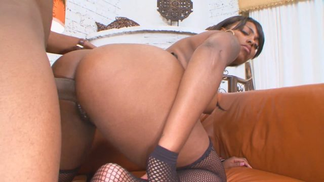 Pleasure in Big Black Booty Cakes