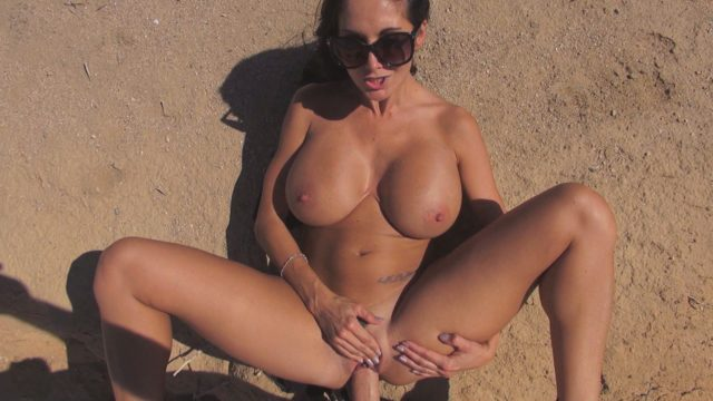 Ava Addams in Butt Naked In Nature