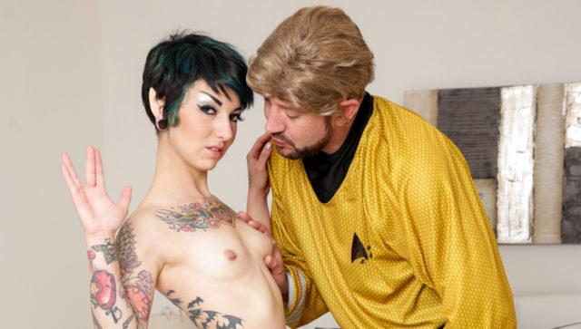 Rachel Ravaged in Trekkie Love, Scene #01