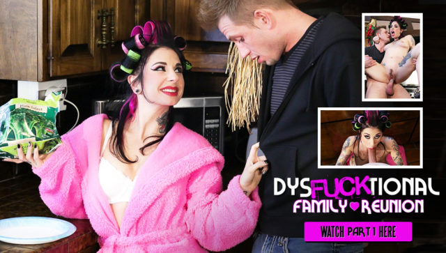 Joanna Angel in DysFUCKtional Family Reunion – Part 1