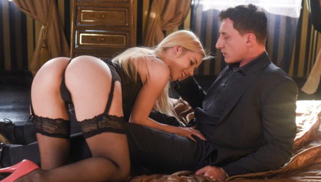 Nesty in Stocking Seduction, Scene #05