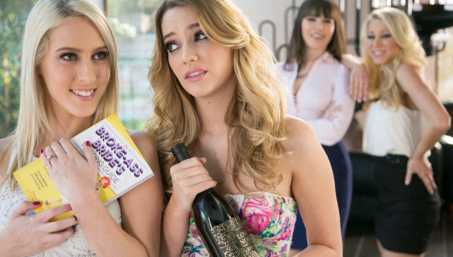 Dana DeArmond and Kenna James and Cadence Lux and Katie Morgan in Meet The Moms, Scene #01