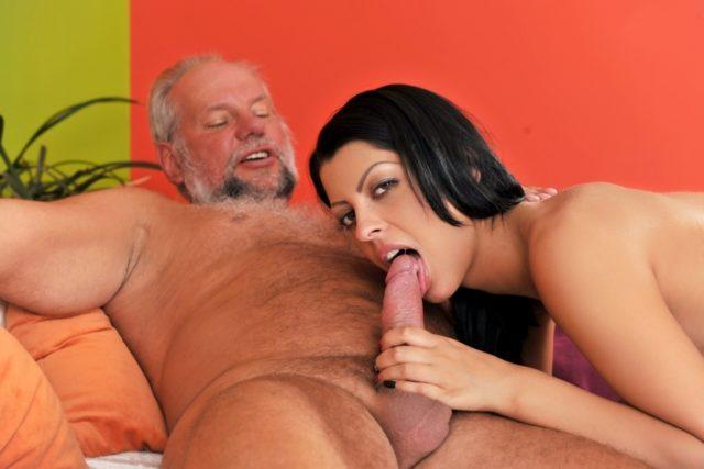 Vivien Bell in Grandpa's After Pool Screw