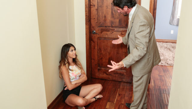 Sophia Leone in Shutting Up By, Sucking Up!