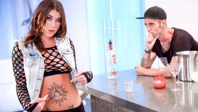 Felicity Feline and Gage Sin in Cum On My Tattoo – Felicity Feline, Scene #01