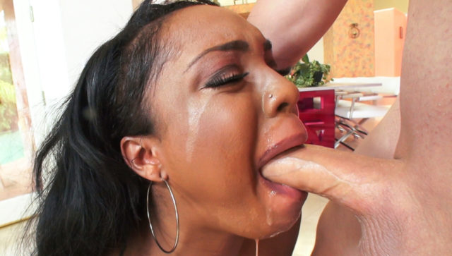 Layton Benton in 36DDDs and A Deep Throat!