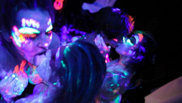 Dana DeArmond and Jada Stevens and Abella Danger and Karlee Grey in Sex Games, Scene #01