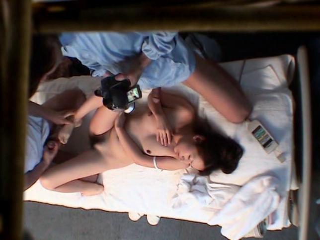 Miki in Hidden Camera Massage Scam