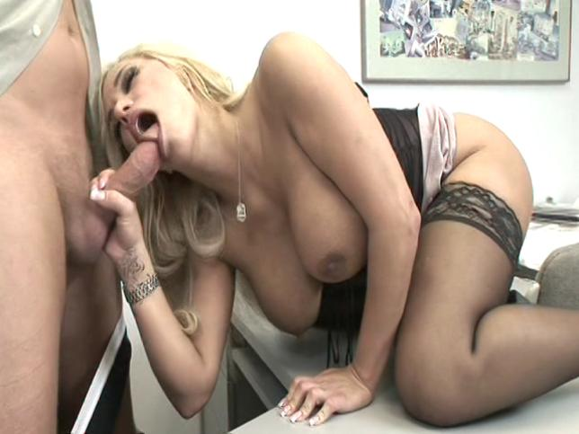 Mark Wood, Shyla Stylez in Office Perverts