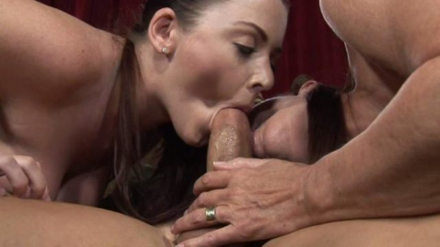 Magdalene St Michaels, Sophie Dee in Mothers Teaching Daughters How To Suck Cock 2