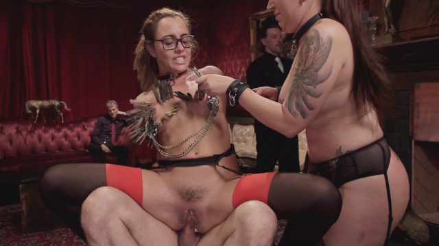 Roxanne Rae, Tori Avano in The Upper Floor: Screaming Anal Slaves