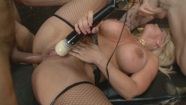 Alura Jenson in Hardcore Gangbang: Desperate Wife Gets Her Gangbang Fantasy Fulfilled