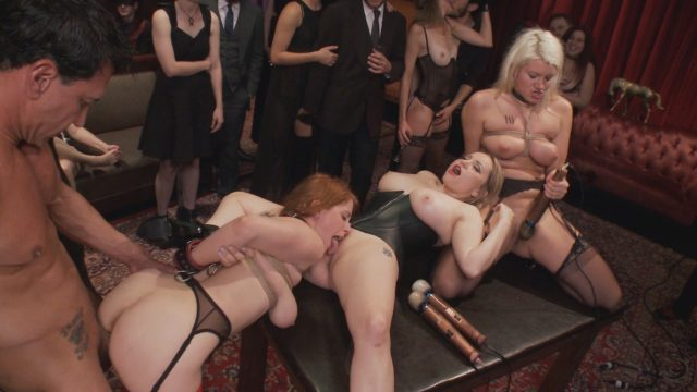 Aiden Starr, Laela Pryce, Marco Banderas, Penny Pax in The Upper Floor: Come Shot Orgy On The Upper Floor