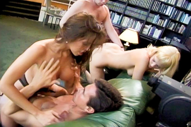 Nici Sterling, Avalon, Peter North in Models Gone Wild #02, Scene #01