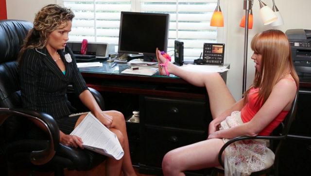 Prinzzess, Marie McCray in Lesbian Tutors #02, Scene #01