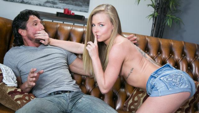 Nicole Clitman, Tommy Gunn in The Stepdad Crush