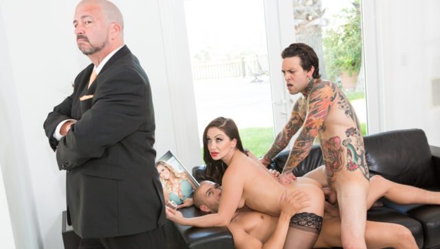 Lea Lexis, Xander Corvus, Small Hands, James Bartholet in The DP Brothers, Scene #01