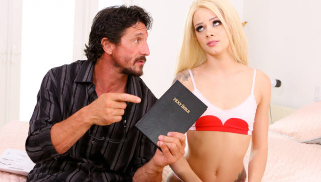 Elsa Jean, Tommy Gunn in Possessed By Pleasure , Scene #01