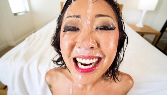 Saya Song, Jonni Darkko in Saya's Pretty Cum Portrait