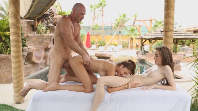 Ariana Marie, Tali Dova in Threesome Fantasies Fulfilled 9