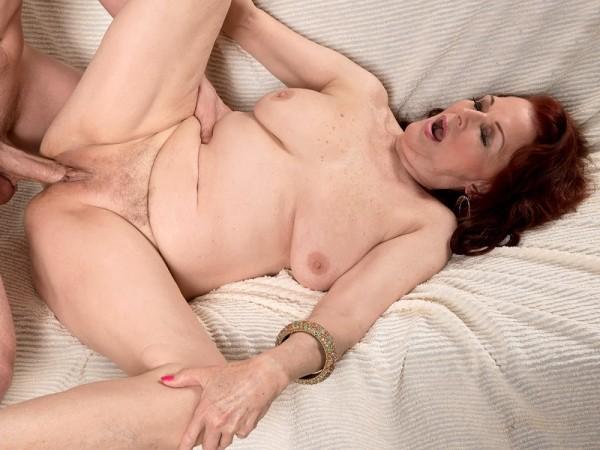 Katherine Merlot in Creampied 70something Cunt