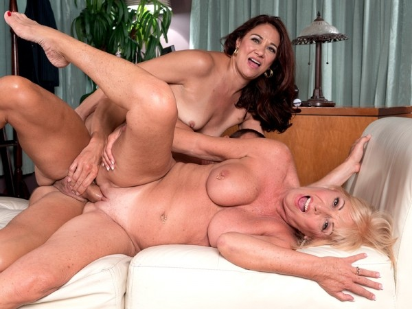 Scarlet Andrews, Renee Black in What will Scarlet and Renee do to get the job? Anything!