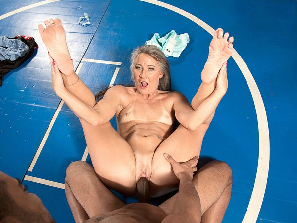 Leilani Lei in Big, black cock for the little fuck doll