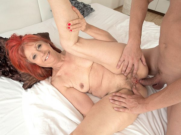 Charlotta in Charlotta's anal debut