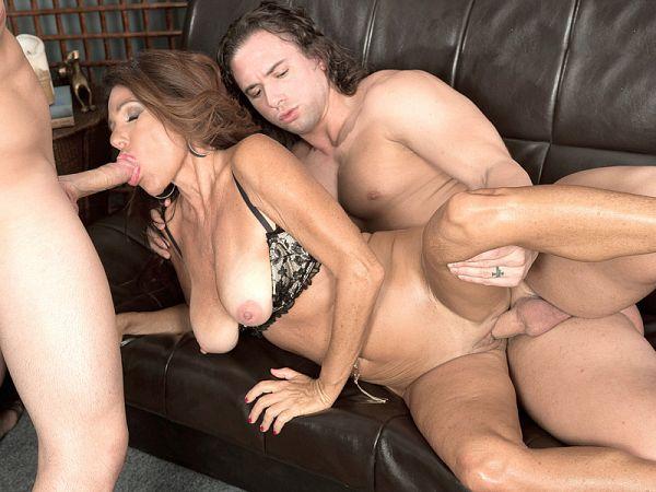 Layla LaMora in Layla fucks her son's friends