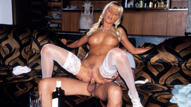 Magdalena in Cute and Sexy Magdalena Sucks on Her Mans Cock and Takes a Facial