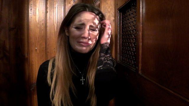 Samantha Bentley in Samantha Bentley Gets a Huge Facial in I Confess