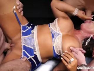Simone Garza – Gangbang Creampie